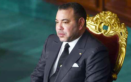 جلالة الملك يهنئ عاهلي الأردن بمناسبة عيد استقلال بلادهما